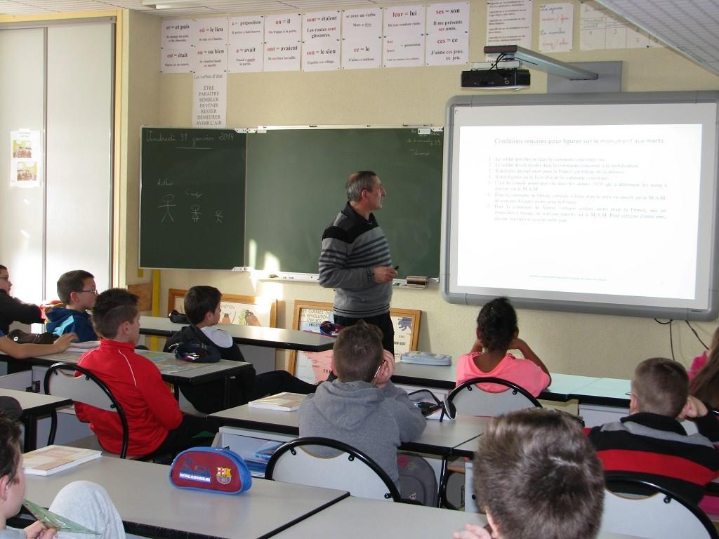 Action pédagogique du SF Meuse à Stenay