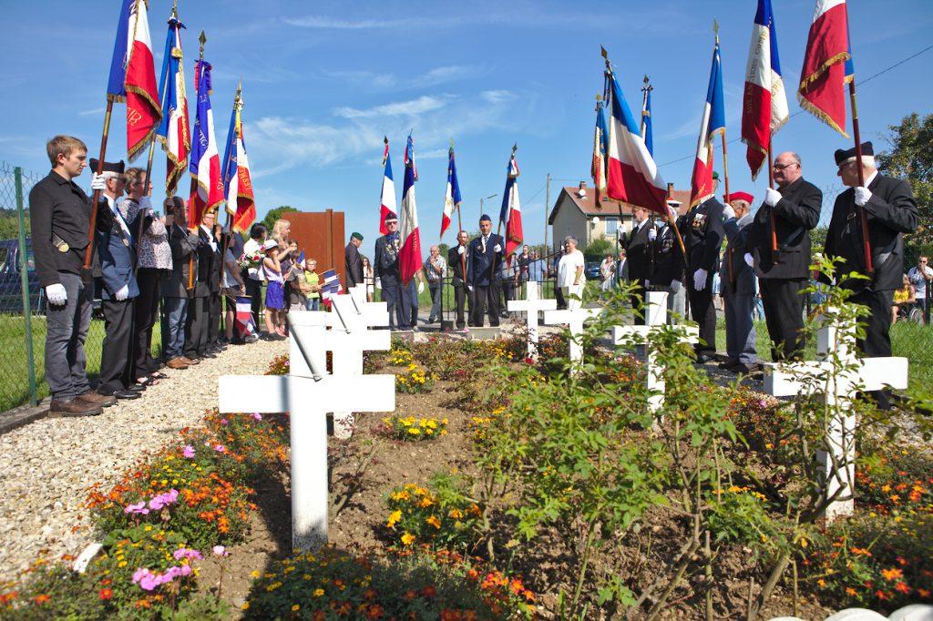 Commémoration au CM de Montigny