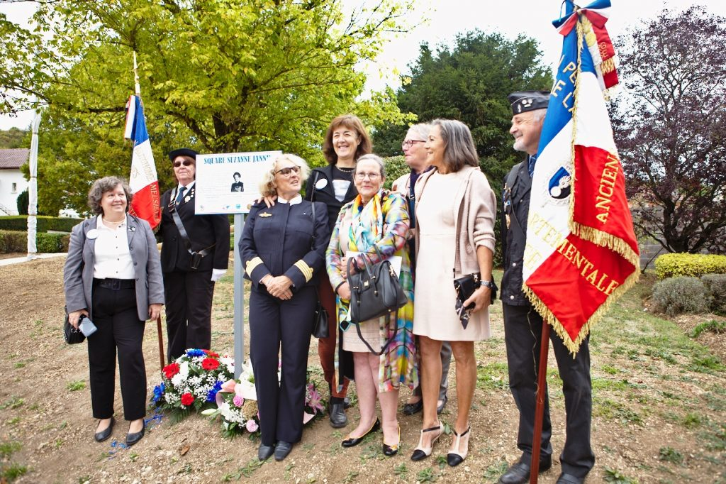 Inauguration square Suzanne Jannin