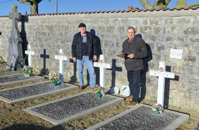 Recherche de tombes de soldats MPLF
