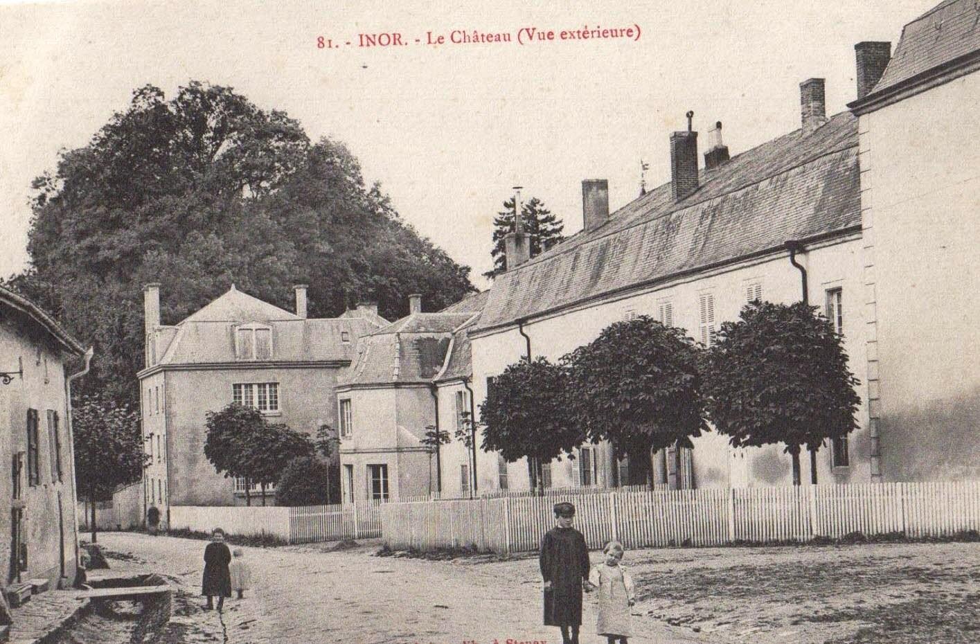 Château d'Inor siège d'un important complexe hospitalier allemand