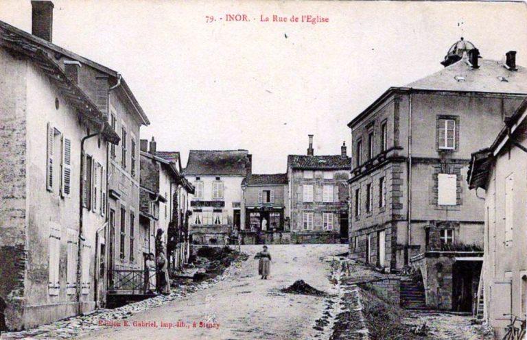 Village d'Inor avant 1914