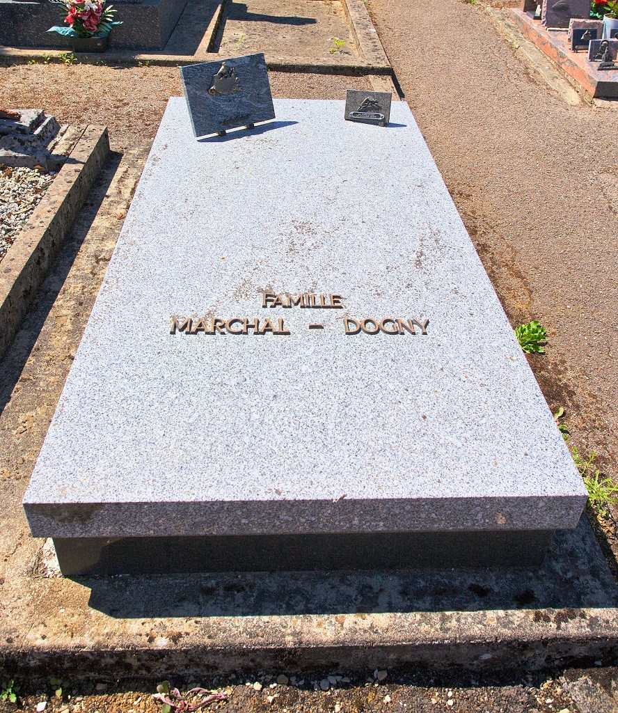 Tombe René Marchal à Vigneul-sous-Montmédy