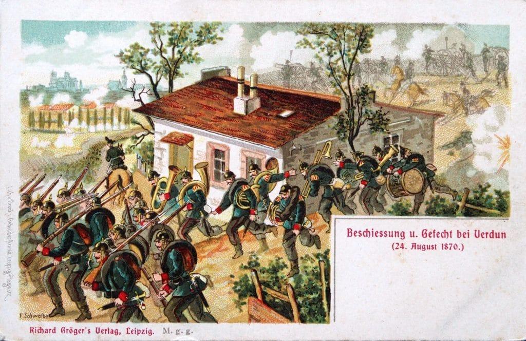Le bombardement du 24 août 1870 (coll. part.)