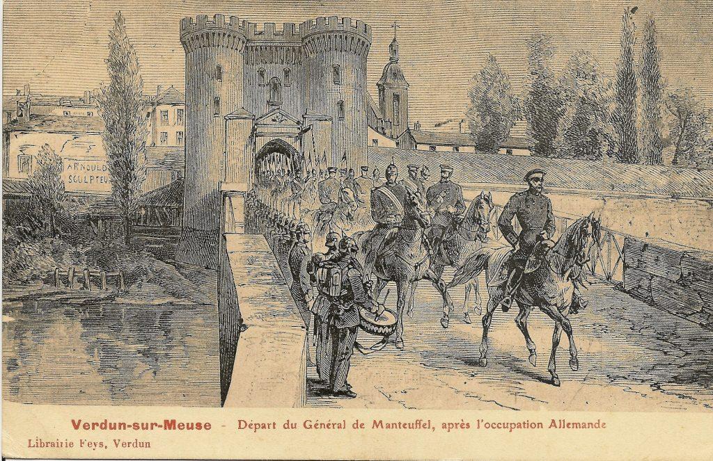 Le départ des Allemands en 1873 (coll. part.)
