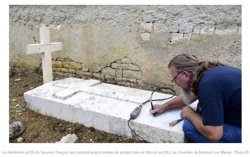 Read more about the article Rénovation de tombes