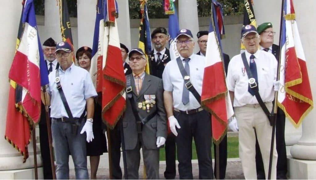 Read more about the article Hubert Chaulot porte-drapeau